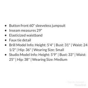 BeBop Pants - Jumpsuit